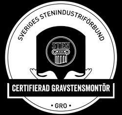 Certifierad Gravstensmontör